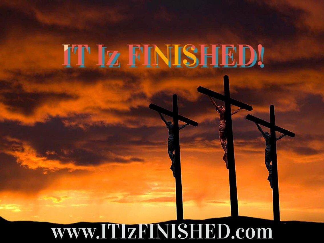 IT Iz FINISHED End Times Ministries - imagen de portada