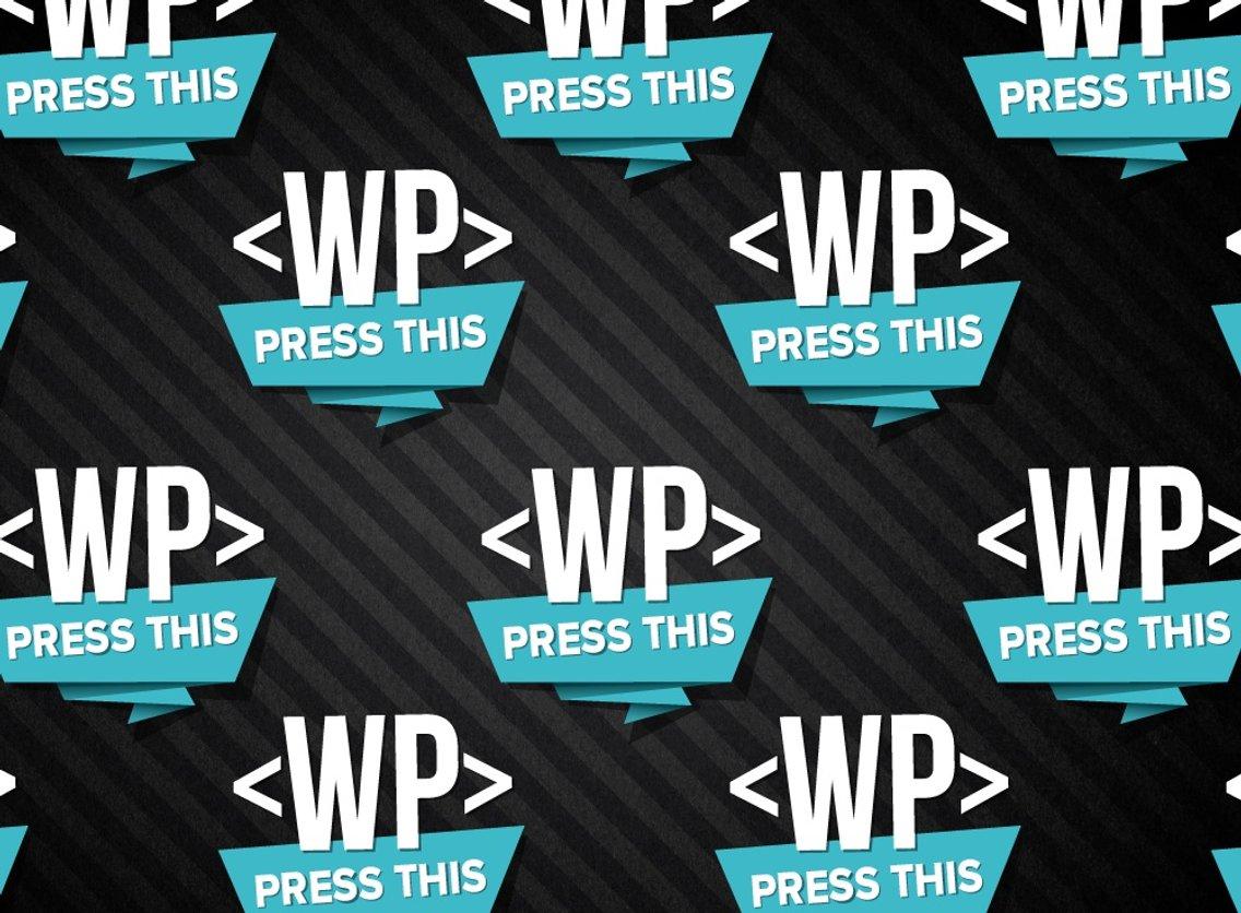 Press This WordPress Community Podcast - imagen de portada