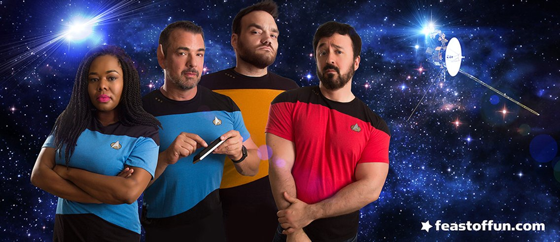 What the Trek? Star Trek Goes Wild - immagine di copertina