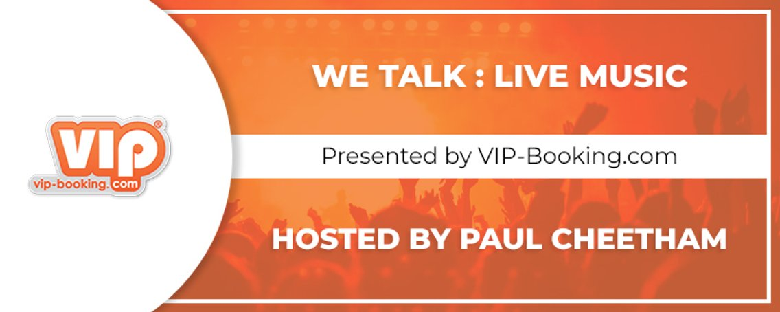 We Talk : Live Music - Cover Image