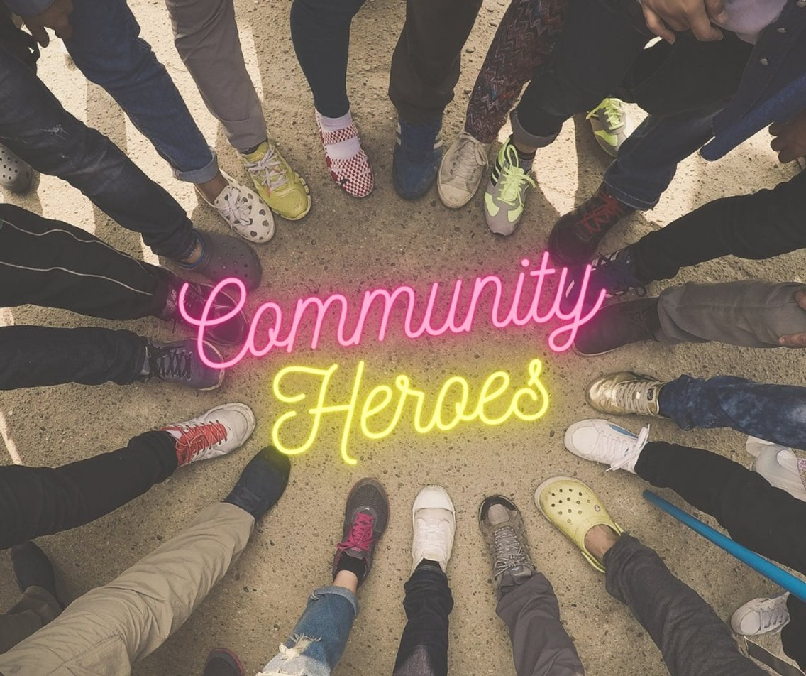 Community Heroes - Cover Image