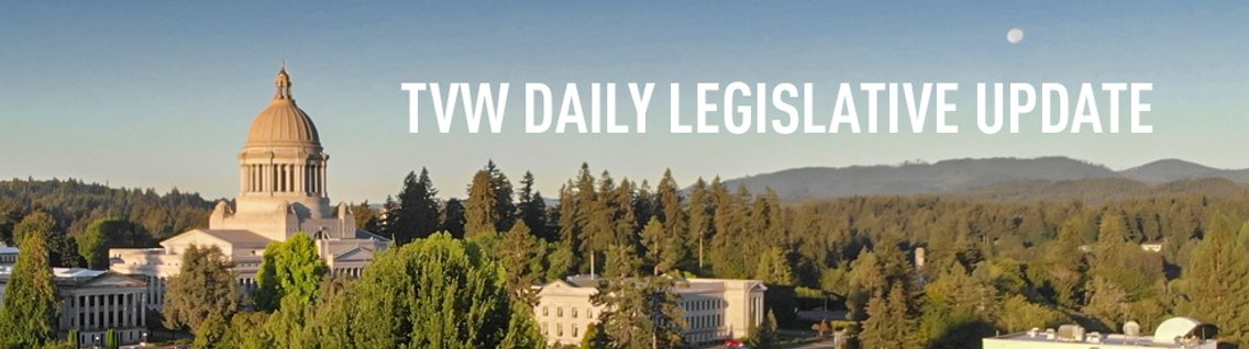 TVW Daily Legislative Update - Cover Image