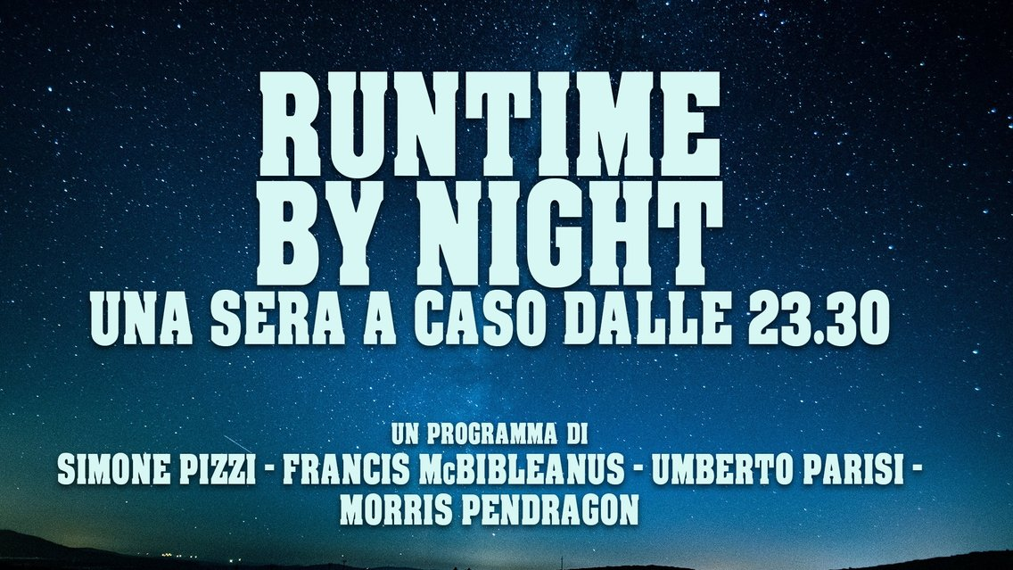 Runtime By Night - Cover Image