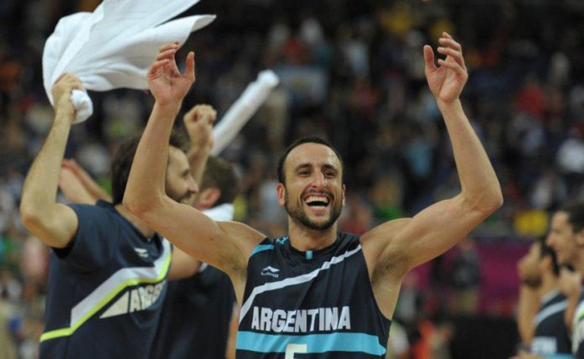Ginobili. Argentine basketball player. - imagen de portada