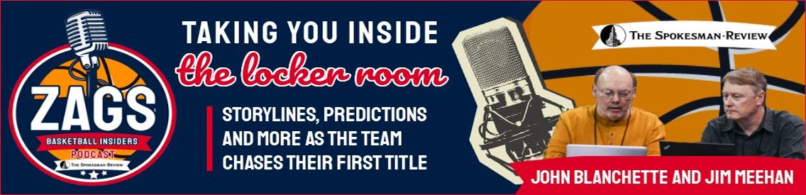 Zags Basketball Insiders - Cover Image