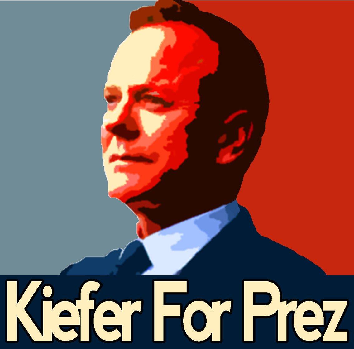 Designated Survivor: Kiefer For Prez - imagen de portada
