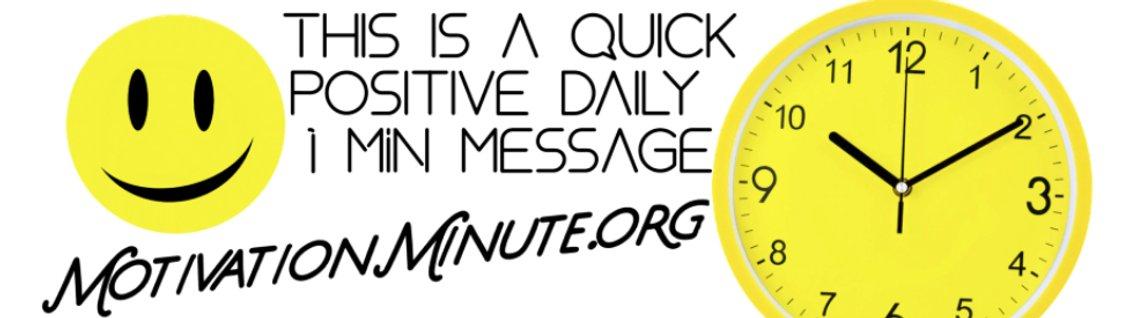 Motivation Minute - immagine di copertina