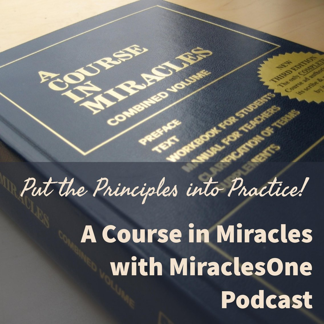 A Course in Miracles with MiraclesOne - Cover Image