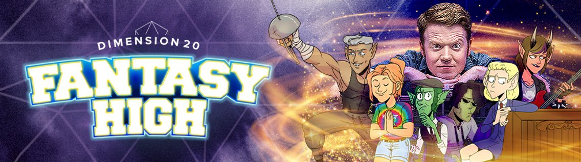 Dimension 20: Fantasy High - Cover Image