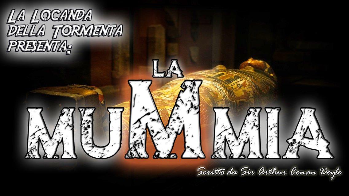 Audiolibro La Mummia - A.C. Doyle - immagine di copertina