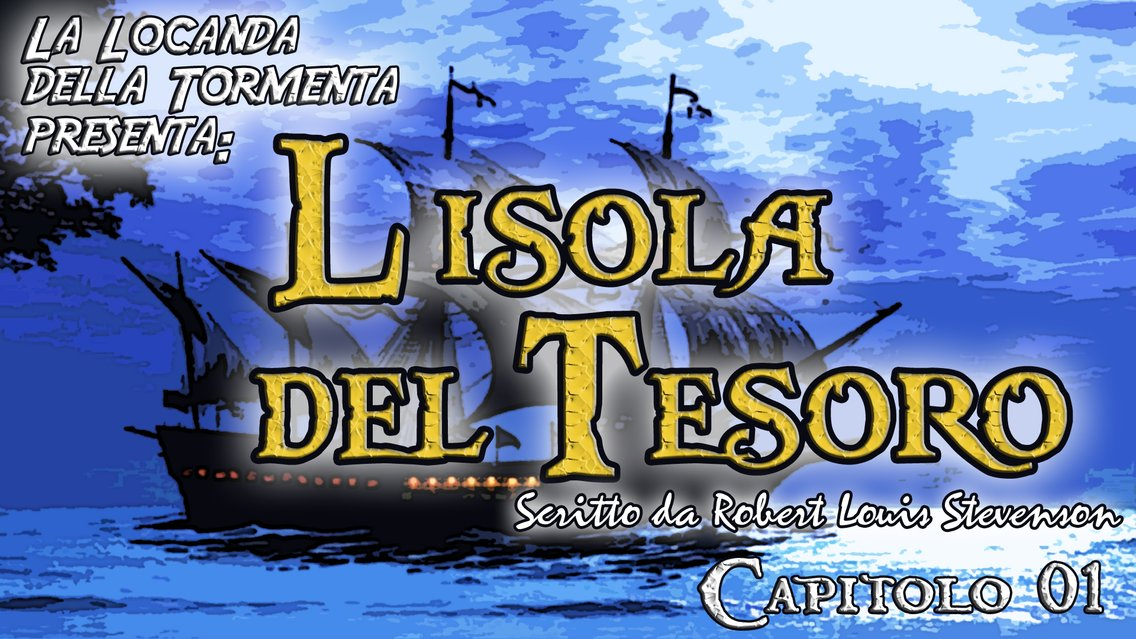 Audiolibro L'isola del Tesoro - R.L. Stevenson - immagine di copertina
