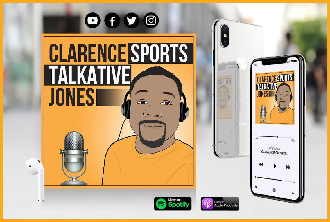 Clarence Sports Talkative Jones - Cover Image