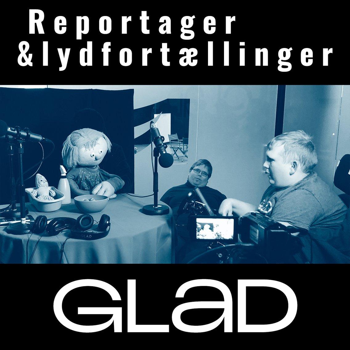 RADIO GLAD - Inde i studiet - ude i verden - immagine di copertina