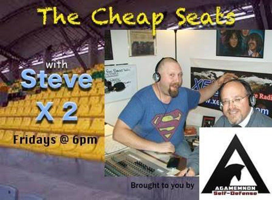 Cheap Seats Podcast w/ Steve & Steve - immagine di copertina