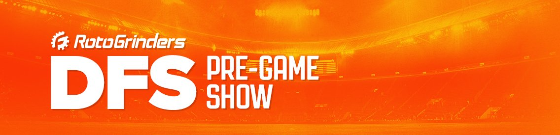 RotoGrinders DFS Pre-Game Show - Cover Image
