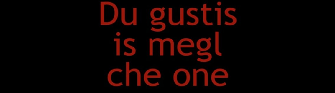 Du gustis is megl che One 1^ Stagione - Cover Image