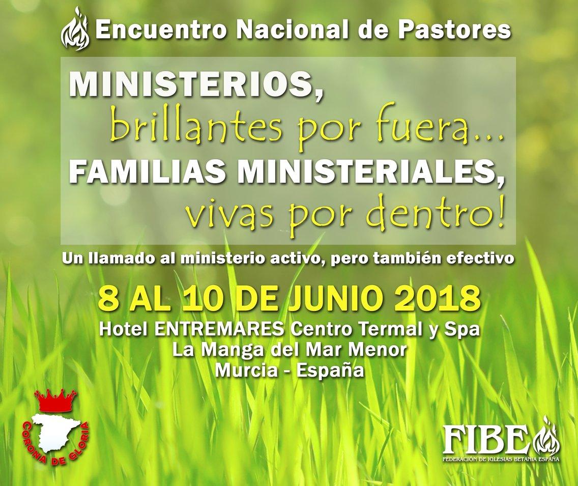 Encuentro Nacional de Pastores 2018 - imagen de portada