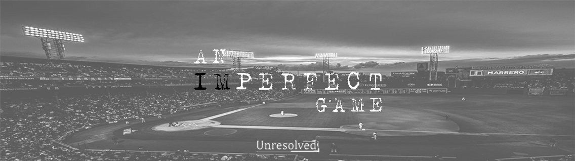An Imperfect Game - Cover Image