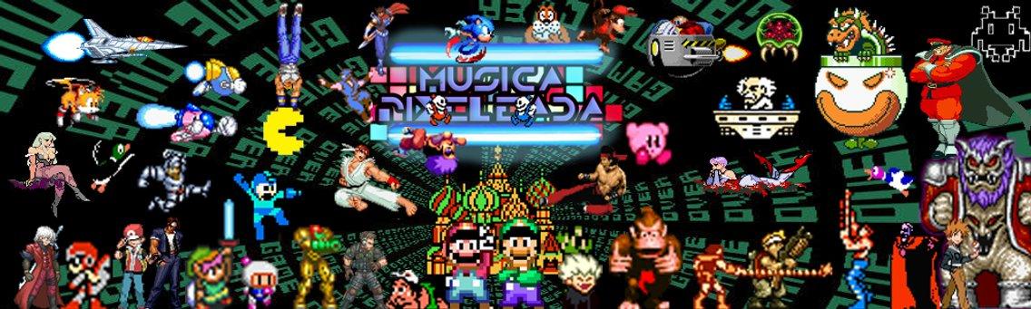 Musica pixeleada - imagen de portada