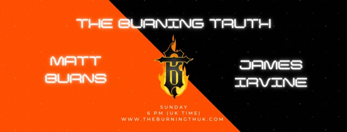 The Burning Truth Live! - Cover Image
