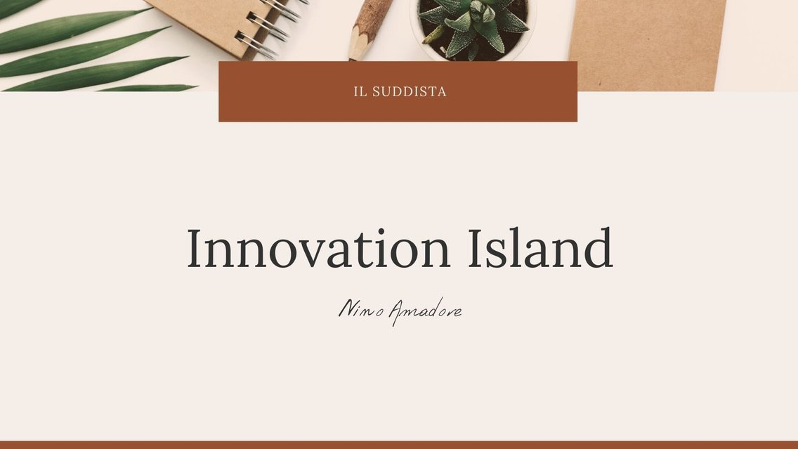 Innovation island - Cover Image