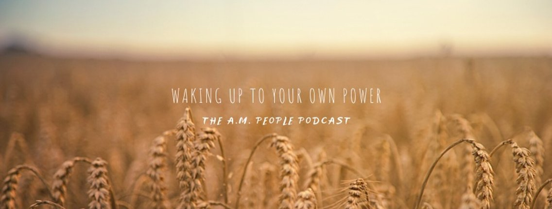 The A.M. People Podcast - Cover Image