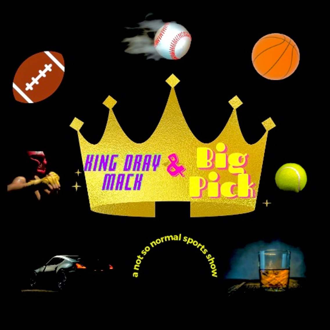 The King Dray Mack and Big Pick Show - Cover Image
