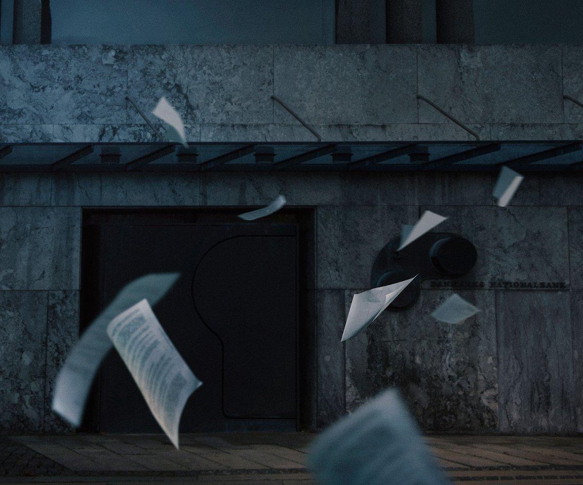 Nationalbanken og de skjulte skatte - imagen de portada