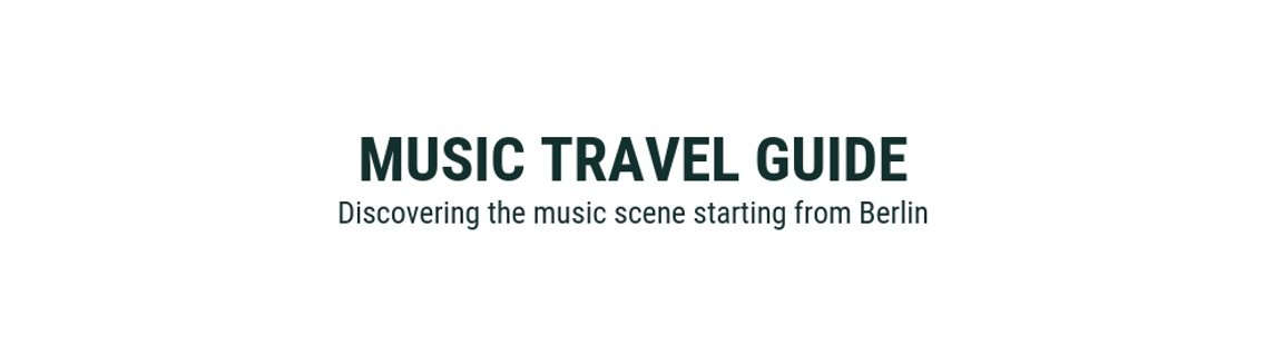 Music Travel Guide - Cover Image