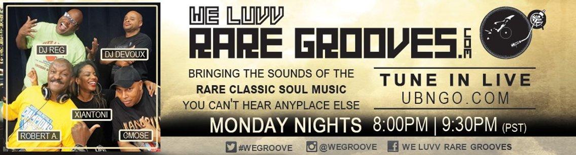 We Luvv Rare Grooves - imagen de portada