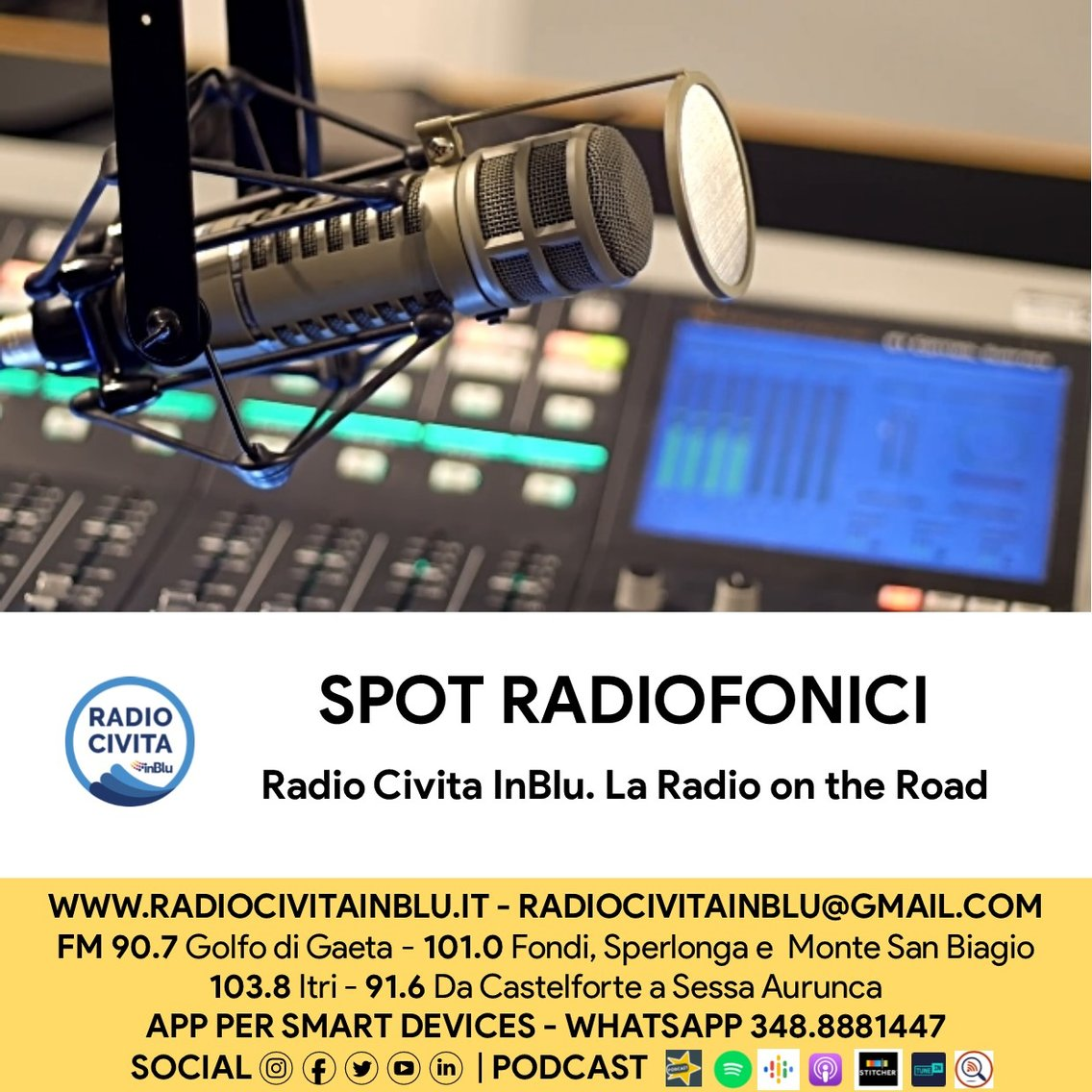 Spot radiofonici - Cover Image