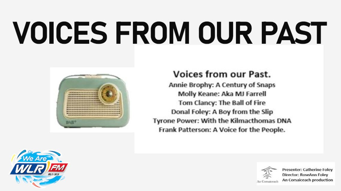 Voices from our Past on WLR - imagen de portada