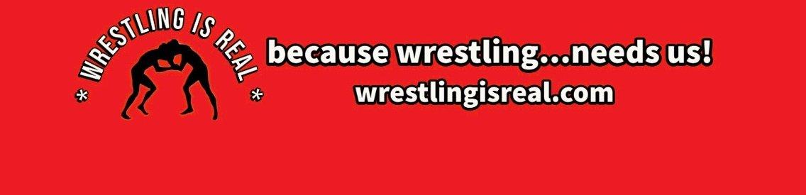 Wrestling Is Real Wrestling Podcast - Cover Image