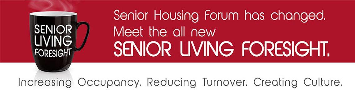 Senior Living Foresight - The Podcast - imagen de portada