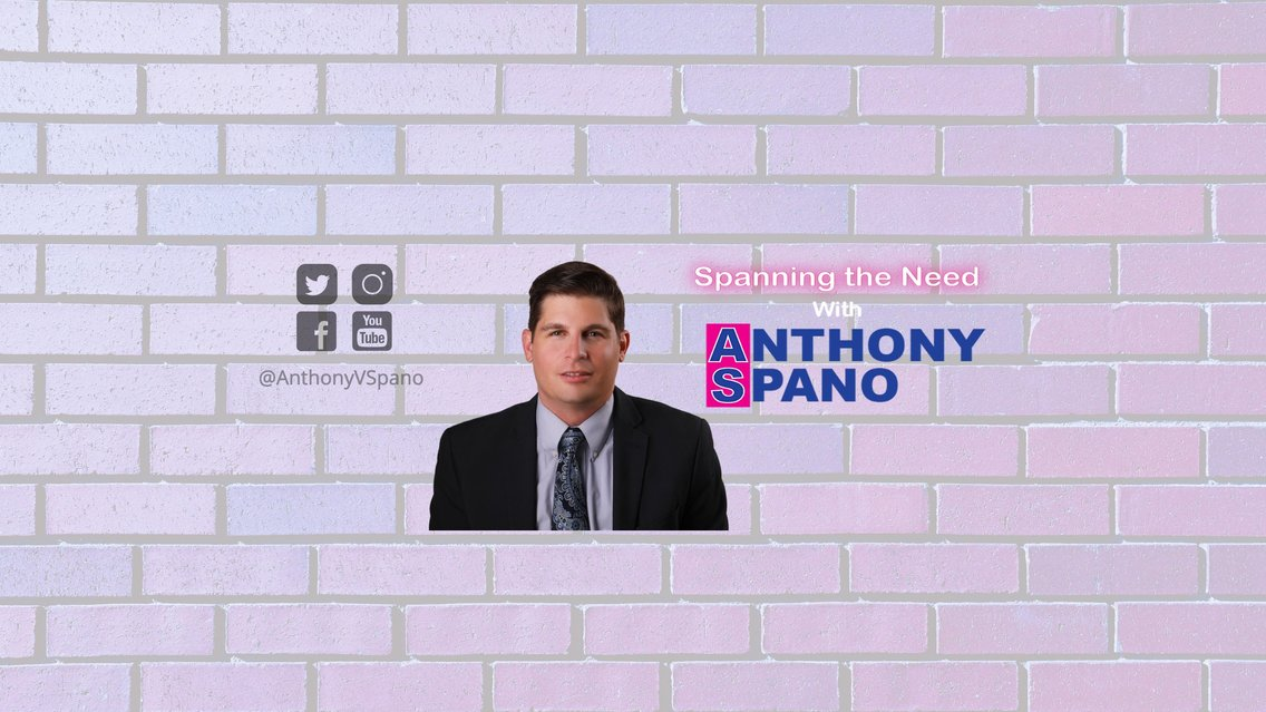 Spanning the Need with Anthony Spano - immagine di copertina
