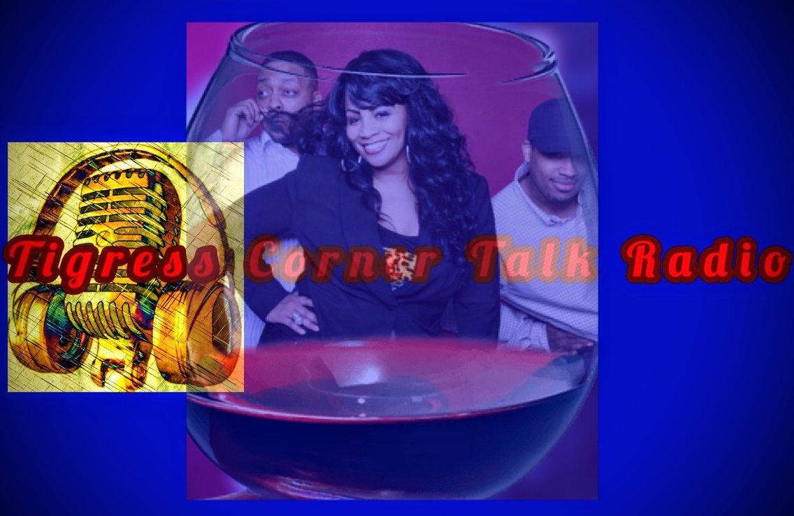 Tigress Corner Talk Radio - imagen de portada