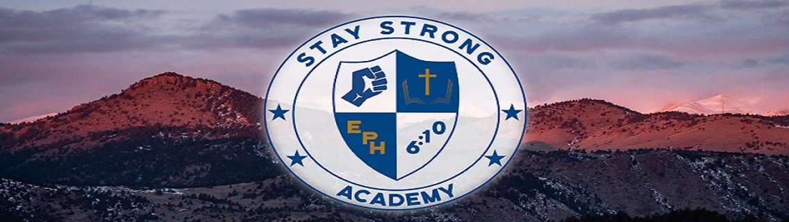 Stay Strong Academy - Cover Image