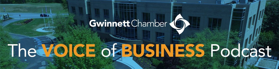 The Voice of Business Podcast (formerly Member Spotlight) with the Gwinnett Chamber - immagine di copertina