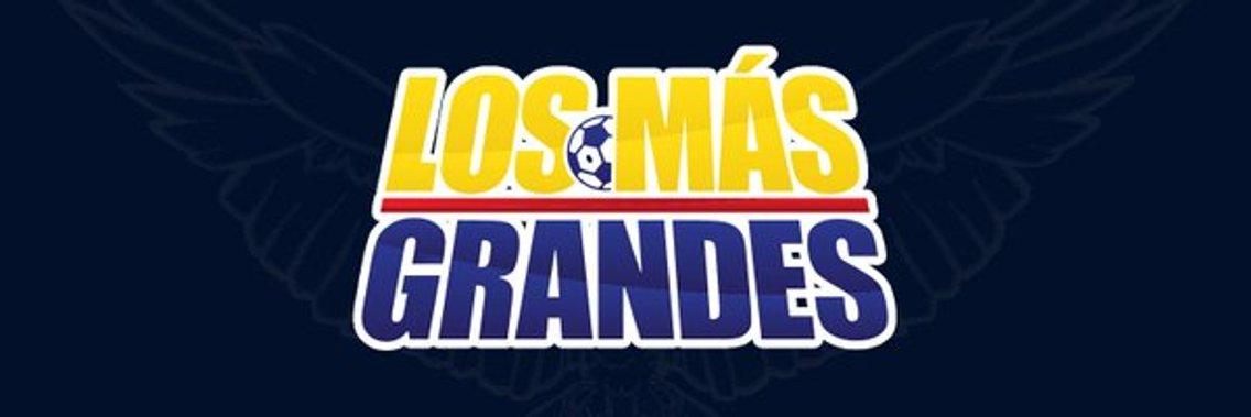 LOS MÁS GRANDES - Cover Image