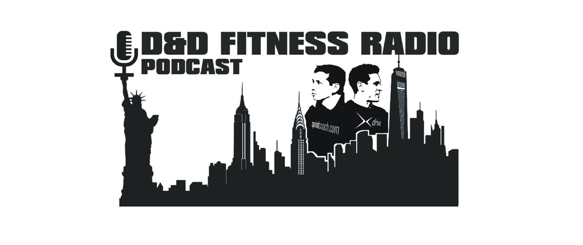 D&D Fitness Radio Podcast - Cover Image