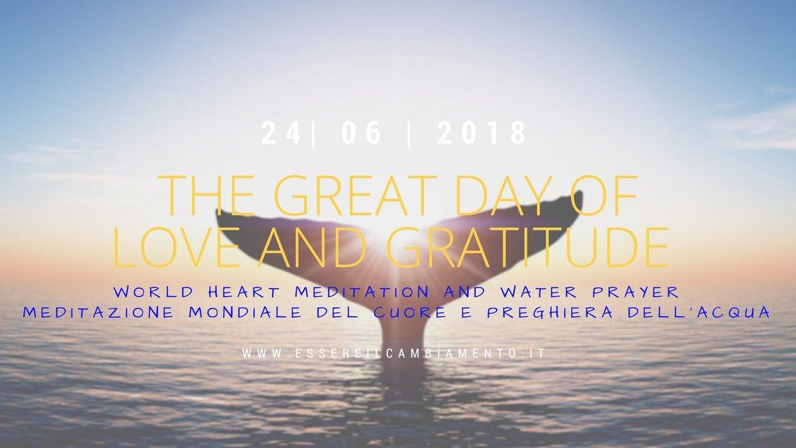 The Great Day of Love and Gratitude - imagen de portada