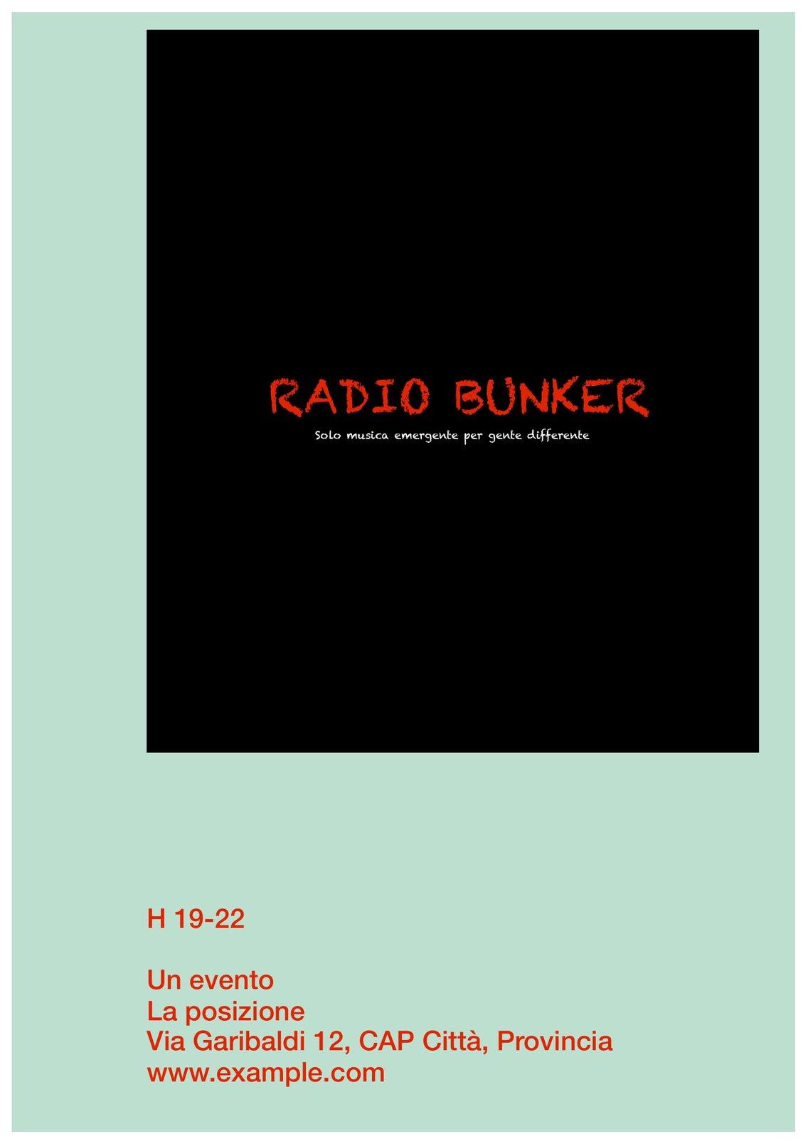 radio bunker - imagen de portada