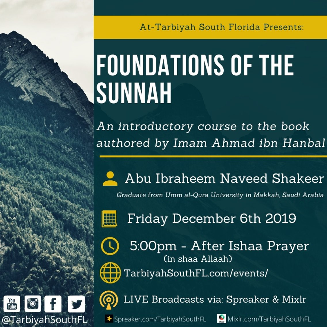 Foundations of The Sunnah - Cover Image