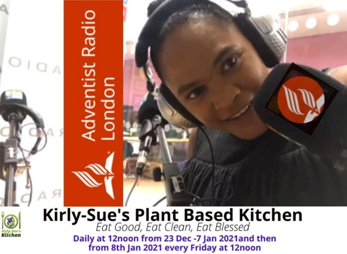 Kirly-Sue's Plant-Based Kitchen - Cover Image