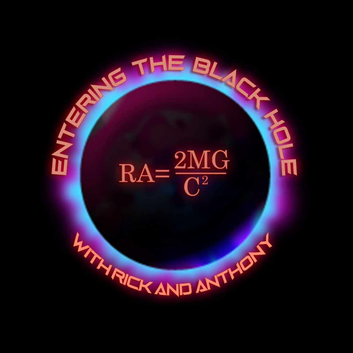 Entering the Black Hole with Rick & Ant - Cover Image