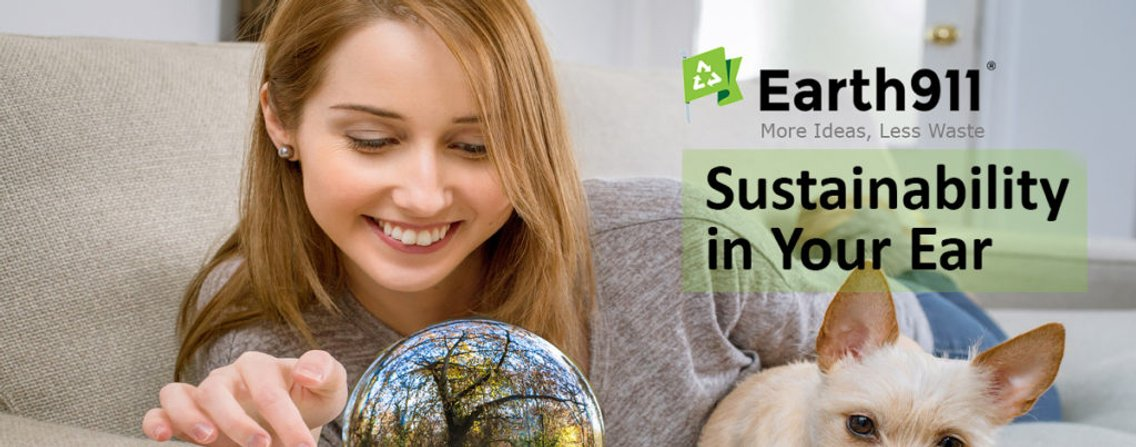 Earth911.com: Sustainability In Your Ear - Cover Image