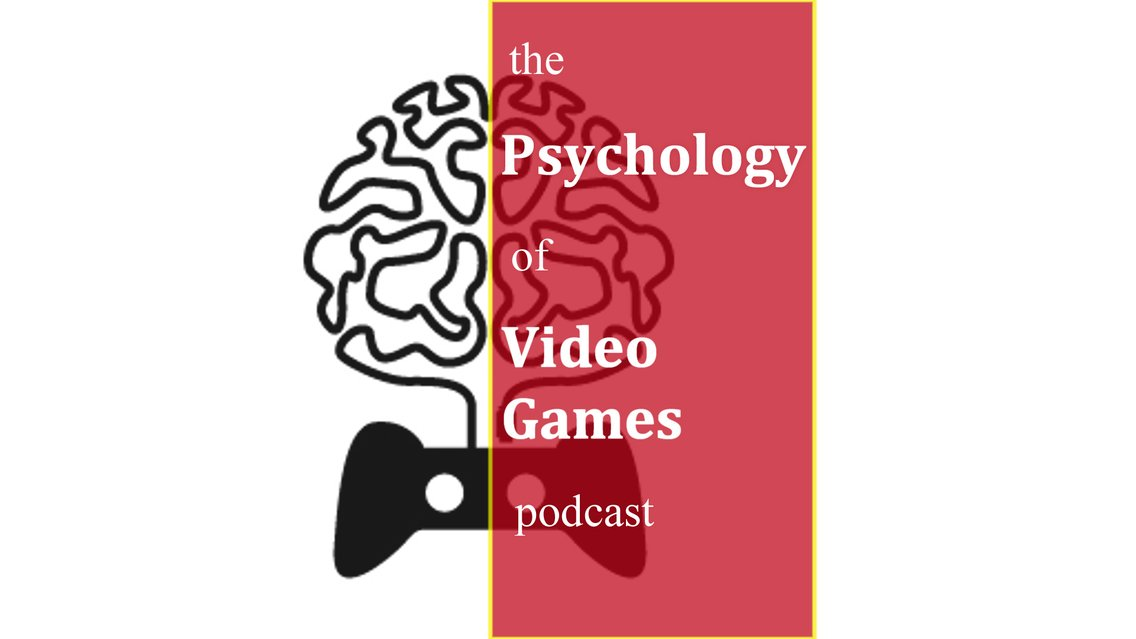 Psychology of Video Games Podcast - Cover Image