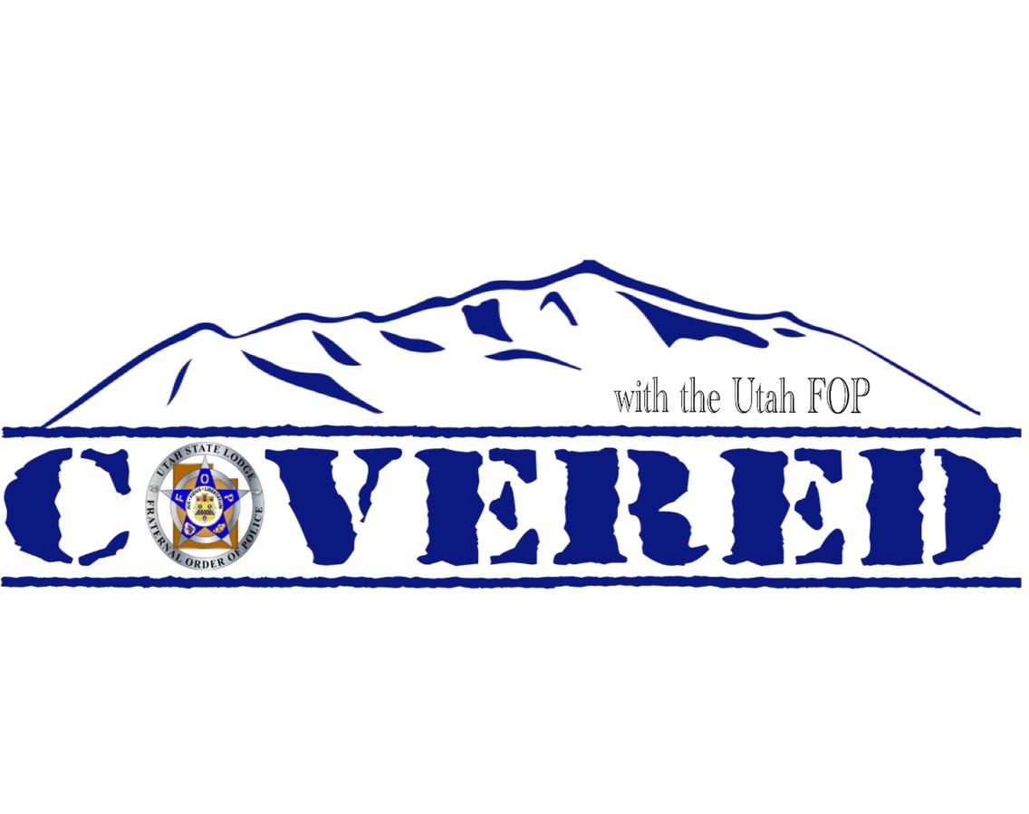Covered with the Utah FOP - imagen de portada