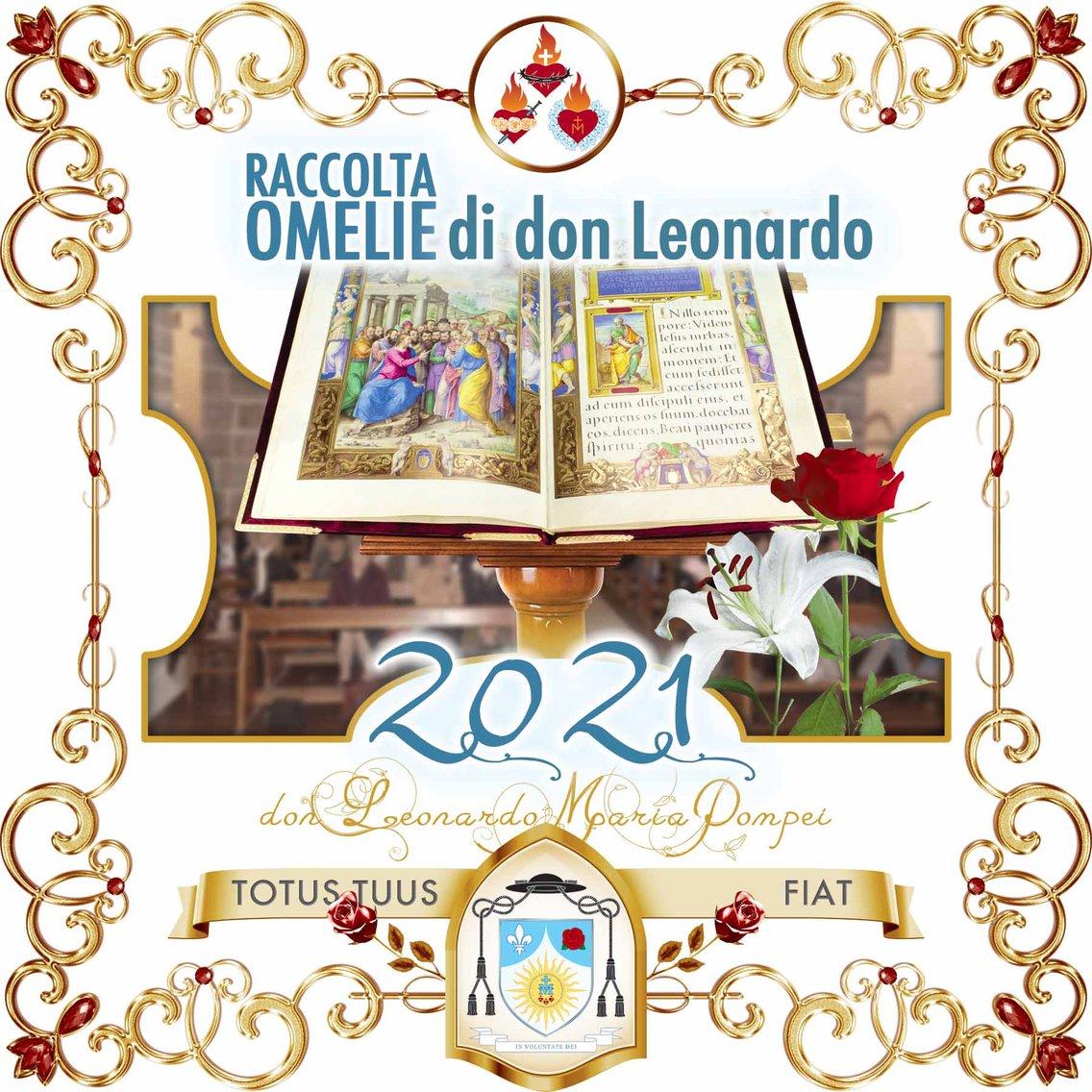 Omelie di don Leonardo Maria Pompei, 2021 - immagine di copertina