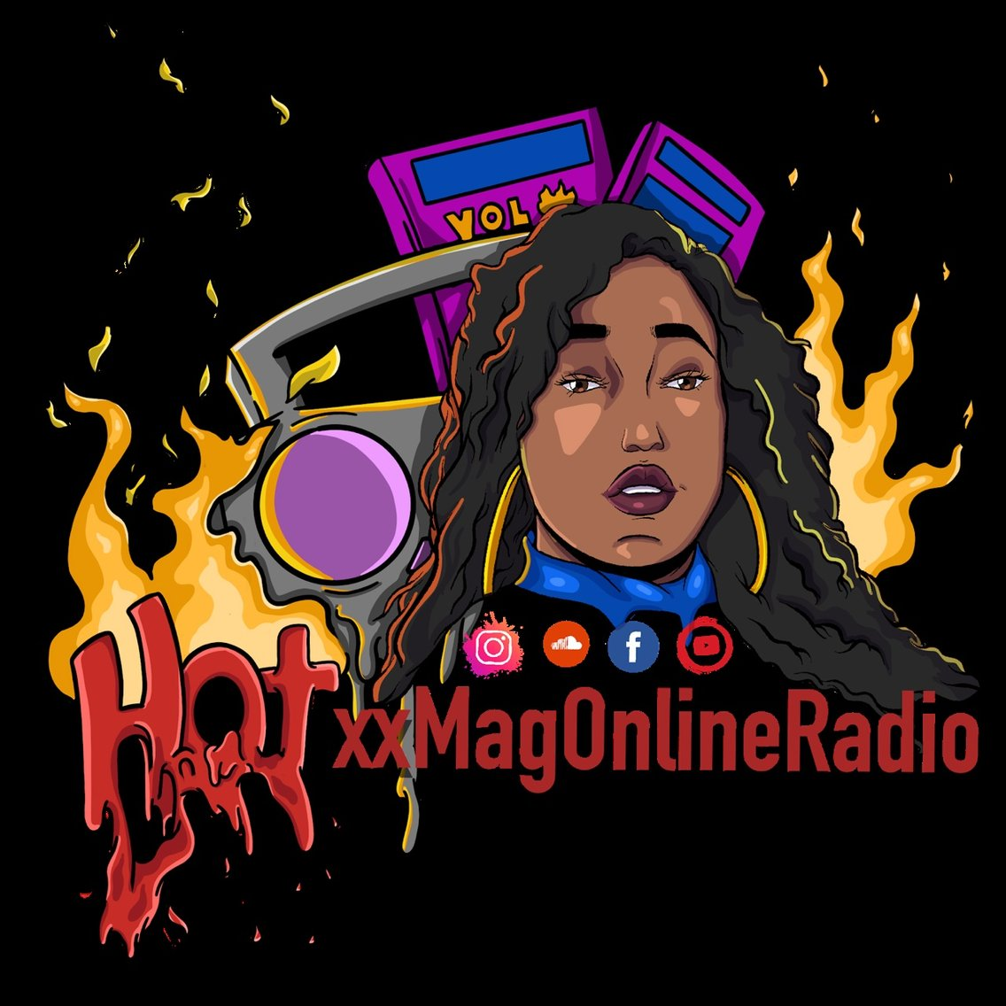 HotxxMagOnlineRadio's show - Cover Image